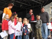 Beim 'Weltkindertag' in Remscheid am 21. September 2008.