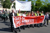 1. Mai - Demonstrationsmarsch in Herten
