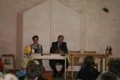 Diskussion in der Rudolf-Steiner-Schule am 20. Mai 2008.